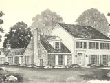 Antique Colonial House Plans Vintage House Plans 1970s Early Colonial Part 2