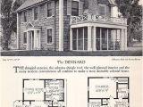 Antique Colonial House Plans Vintage House Plans and Design Diseno Pinterest