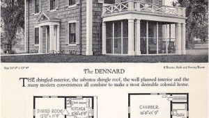 Antique Colonial House Plans Vintage House Plans and Design Diseno Pinterest