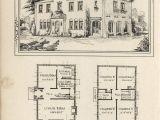 Antique Colonial House Plans Vintage Spanish Revival House Plans
