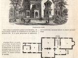 Antique Home Plans Classic Home Design Gothic Cottage 1862 Click Americana