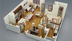 Apartment Home Plans 1 Bedroom Apartment House Plans