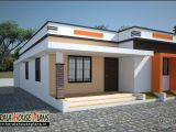 Architect Cost for House Plans Low Cost House In Kerala 668 Sqft Kerala House Plans