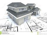 Architect Plans for Homes House On Architect Plans Stock Illustration Illustration