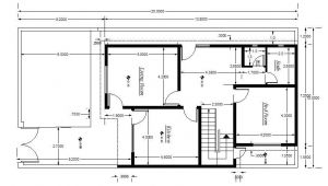 Architectural House Plans Free Download Cad Block Of House Plan Setting Out Detail Cadblocksfree