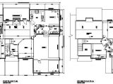 Architectural House Plans Free Download House Plan Cad Layout Drawing Cadblocksfree Cad Blocks Free