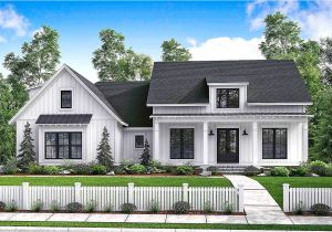 Architecture Home Plans Budget Friendly Modern Farmhouse Plan with Bonus Room
