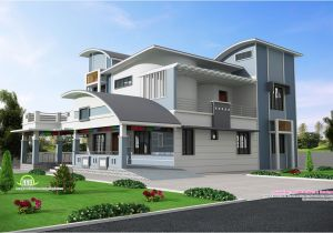 Architecture Home Plans Modern Unique Style Villa Design Kerala Home Design and