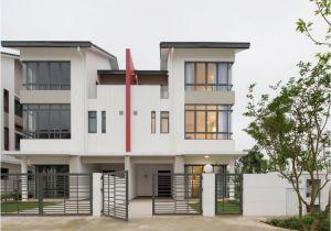 Architecture Home Plans Semi Detached House by Landmak Architecture