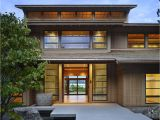 Asian Home Plans Contemporary House In Seattle with Japanese Influence