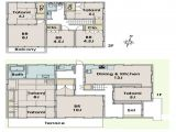 Asian House Designs and Floor Plans Japanese Home Floor Plan New Traditional Japanese House