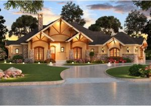 Aspen Creek House Plan Sprawling One Story Home with Four Bedrooms