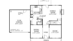 At Home Plan B southern Heritage Home Designs House Plan 1883 B the