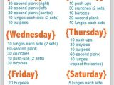At Home Work Out Plan Go after Your Goal to Exercise More Here 39 S How Weekly