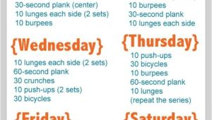 At Home Work Out Plans Go after Your Goal to Exercise More Here 39 S How Weekly