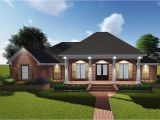 Atampt Home Plans attractive Acadian with Grand Rear Porch 83878jw