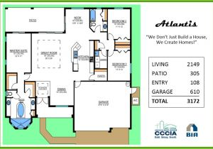 Atlantis Homes Floor Plans atlantis Floor Plan Tracey Homes Swfl Custom Built Homes