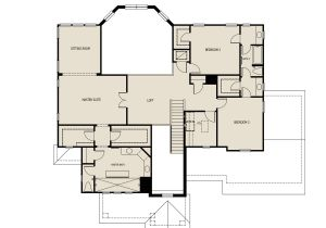Atlantis Homes Floor Plans atlantis New Home Plan for Latham Park Estate In Winter