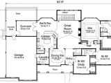 Atrium Home Plans atrium Ranch Home Plan with Sunroom 57155ha