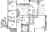Atrium Home Plans House Plans with atriums In Center