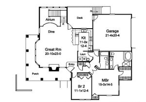 Atrium Home Plans Marina Bay Sunbelt atrium Home Plan 007d 0244 House