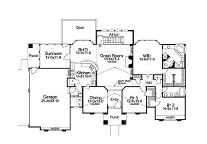 Atrium Home Plans Tampa Bay atrium Ranch Home Plan 007d 0098 House Plans