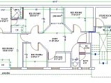 Autocad Home Plans Drawings Free Download 3d House Design Drawing 3 Bedroom 2 Storey Perspective