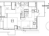 Autocad Home Plans Drawings Free Download Autocad Drawing Schroder House In Utrecht First Floor Dwg
