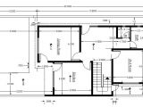 Autocad Home Plans Drawings Free Download Cad Block Of House Plan Setting Out Detail Cadblocksfree