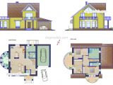 Autocad Plans Of Houses Dwg Files Small Family House Plans Cad Drawings Autocad File Download