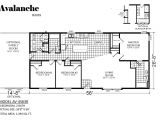 Av Homes Floor Plans Avalanche Av 4563r by Champion Homes