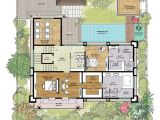 Balinese Home Plans Balinese Style House Floor Plans