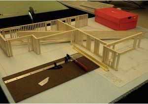 Balsa Wood Model House Plans Balsa Wood Model House I Got The 2nd