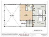 Barn Home Floor Plans with Loft Barn House Plans with Loft Second Floor Plan House