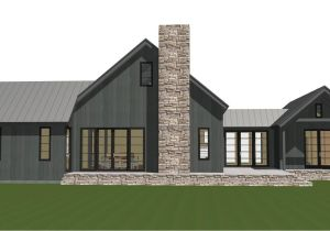 Barn Homes Plans Contemporary Barn Home Plan the Lexington