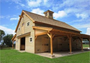 Barn Homes Plans Sasila Post and Beam Horse Barn Plans
