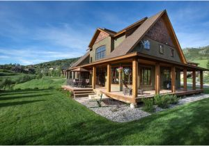 Barn House Plans with Porches Barn Style House Plans Wrap Around Porches and Barn Style