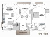 Barn Like House Plans This is the Floor Plan with Master Downstairs I Want to