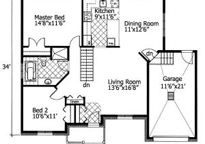 Barrier Free Home Plans Barrier Free Bungalow 90204pd Architectural Designs
