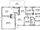 Basement Floor Plans for Ranch Style Homes 4 Bedroom Ranch House Plans with Basement 2018 House