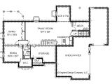 Basement Floor Plans for Ranch Style Homes Ranch Style House Plans with Basements Cottage House Plans