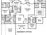 Basement Home Plans 3 Bedroom House Plans with Basement Smalltowndjs Com