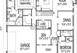 Basement Home Plans Designs House Plans with Basements One Story Inspirational