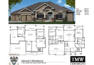 Basement Home Plans Designs House Plans with Daylight Basements Elegant Rambler