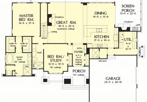 Basement Home Plans Designs Small House Floor Plans with Walkout Basement