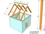 Basic Dog House Plans Draw A Floor Plan
