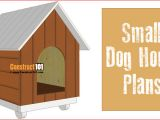 Basic Dog House Plans Small Dog House Plans Step by Step Construct101