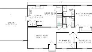 Basic Home Floor Plans Simple Ranch Floor Plans and Noname