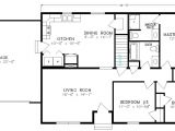 Basic Ranch Style House Plans Simple Ranch Floor Plans and Noname
