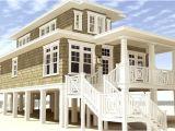 Beach Home Plans for Narrow Lots Narrow Beach House Plans Ideas Home Building Plans 45880